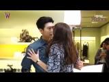 Съемки поцелуя главных героев дорамы Двойное Ю
