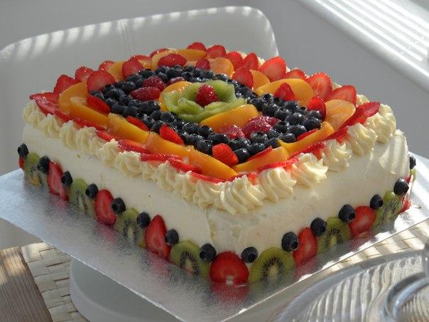 Торт с фруктами цена