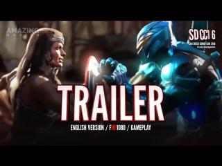 ENT | Трейлер (Gameplay): «Injustice 2 - Чудо-Женщина и Синий Жук» 2017 SDCC2016