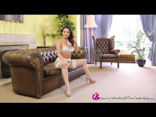 EPORNER.COM - [562128] Hot Brunette Shows Sexy White Lingerie (720)