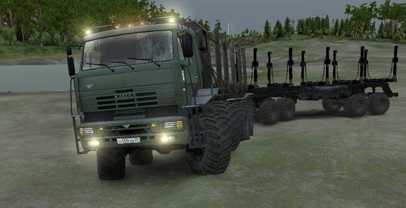 Камаз «Полярник V2» для Spintires - Скриншот 1