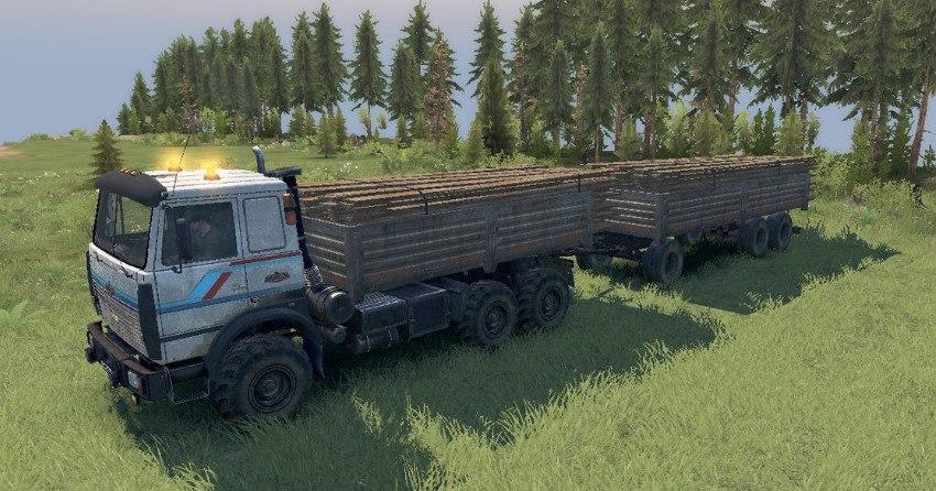 Маз-6317 6X6 для Spintires - Скриншот 1