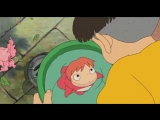 Рыбка Поньо на утёсе eng/Ponyo on the Cliff by the Sea eng