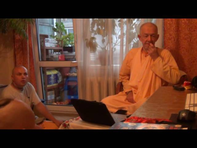 BVV Narasimha Swami, What is Devotional Service Seminar, Blagoveshchensk, 02.09.2016 (Eng-Rus)
