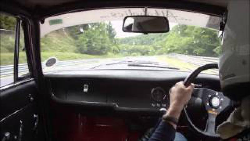 Alfaholics 216BHP GTA-R Chasing Porsche 911 GT3 RS, 8m15s official BTG laptime