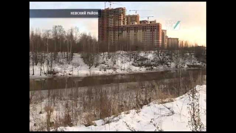 Жители Усть-Славянки требуют пешеходные мосты к ст. м.Рыбацкое 14.12.16
