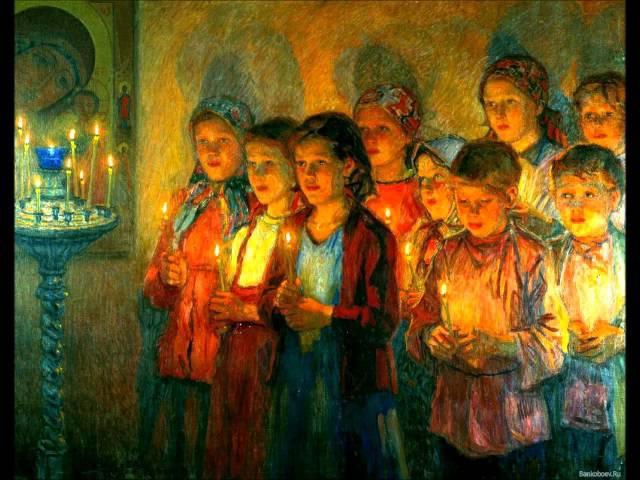 Иже Херувимы Херувимская песнь обиходный распев