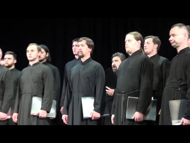 Выступление хора Троице-Сергиевой Лавры в Афинах 31 мая 2016