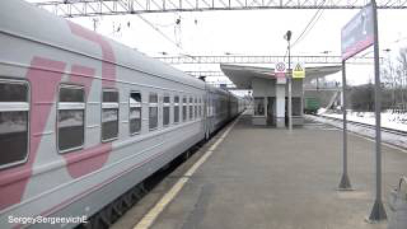 Электровоз ЧС7-011 с поездом № 252 Киев - Москва