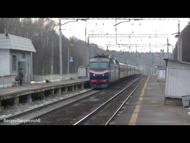 Электровоз ЧС7-011 с поездом № 593 Кишинёв - Москва