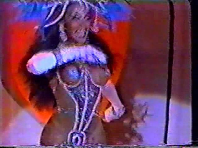 Show de calouros (transformistas) anos 90 sbt, Marcinha.