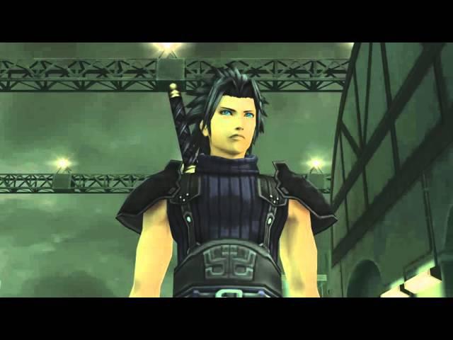 Crisis Core Final Fantasy VII полный фильм 1080p часть 1 русские субтитры игрофильм