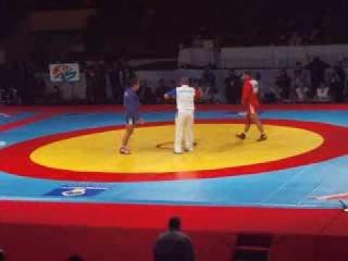 Финал 82кг. Армения : Россия Чемпионат Мира по самбо 2013