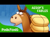Kids' English  The Donkey and the Salt  Aesop's Fables  PINKFONG Story Time for Children
