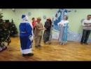 Игра в снежки с Дедом Морозом