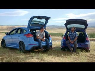 Head2Head 80 2017 Ford Focus RS vs. 2017 Volkswagen Golf R [BMIRussian]