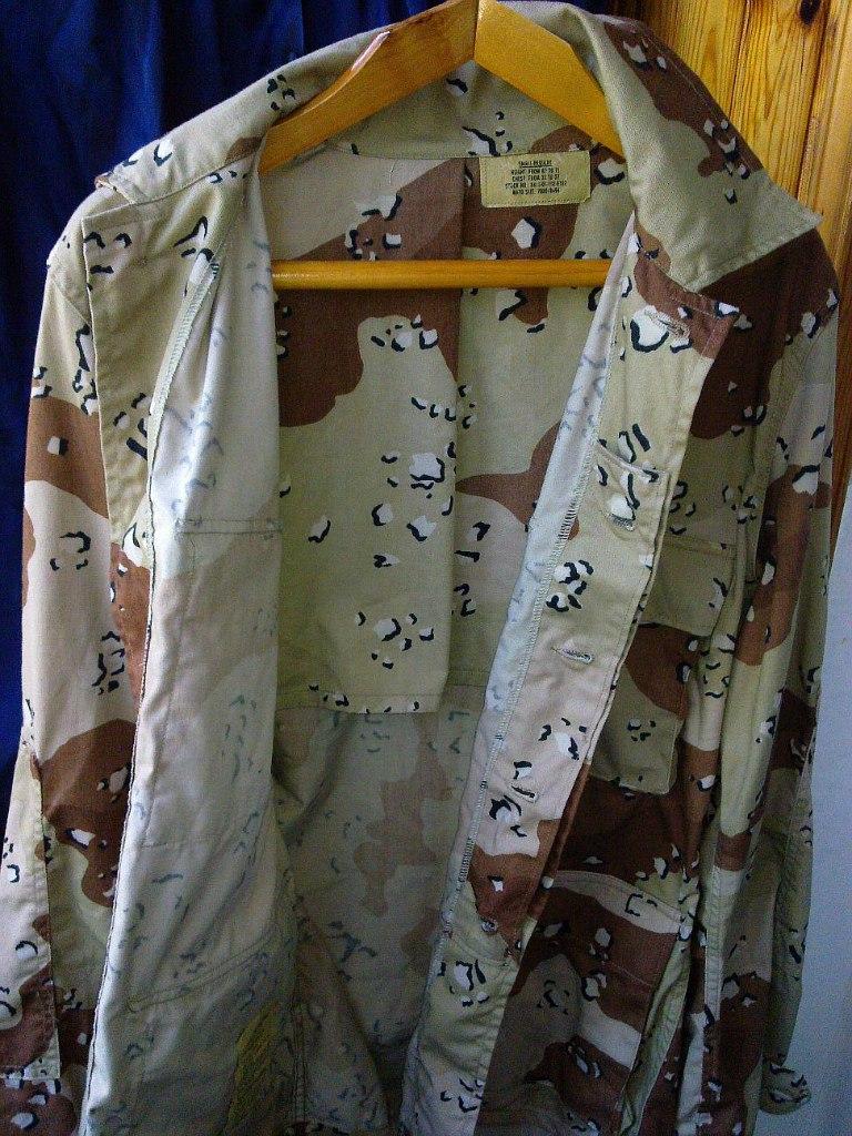 "Desert uniforms (DCU) - DESERT 6 colors ""Chocolate chip""  dated 1984 TUvbmH_8vhg"