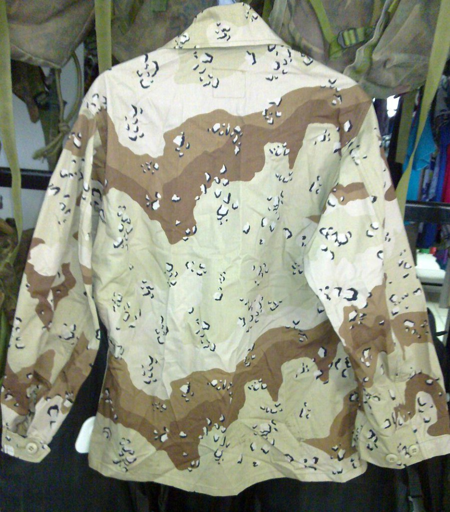 "Desert uniforms (DCU) - DESERT 6 colors ""Chocolate chip""  dated 1984 MEdPHxBTrwg"