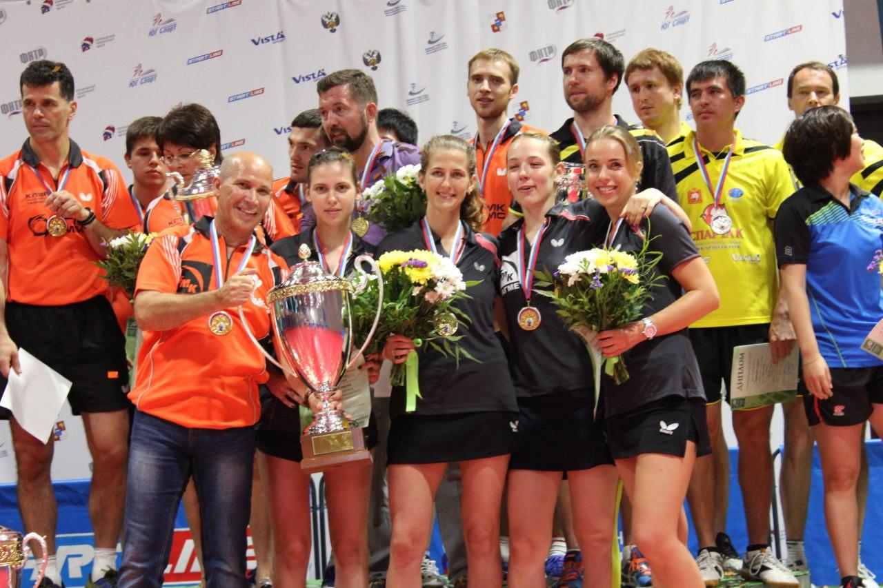 Таганрогская женская команда «ТМК-Тагмет» впервые в истории стала чемпионом России