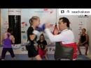 бокс Эвника Садвакас - поразительная, самая быстрая девочка-боксер из Казахстана!👏👏👏😀😀😀
