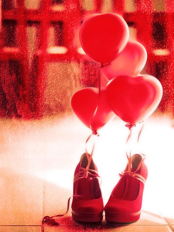 Туфли и шарики