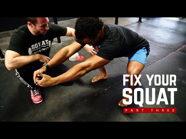 Fix Your Squat Part 3 The Butt Wink w Dr Aaron Horschig of Squat University