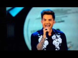 Adam Lambert singing Faith