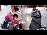 Ep11 - 王昭为解树遮雨花絮 - Moon Lovers making - Lee Joon Gi cover rain for IU - 메이킹 소해 커플 꽃길만 걷게 도와&#5