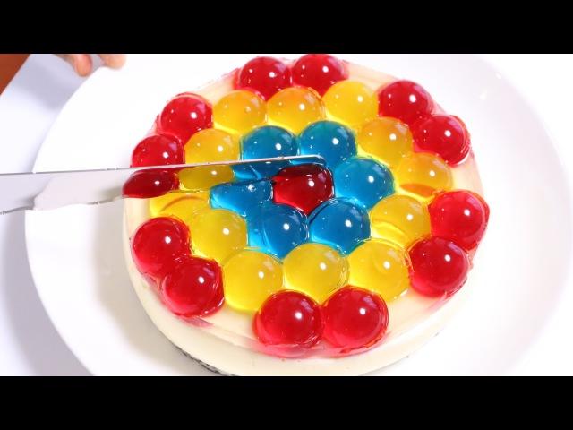 Jewel Orbeez JELL-O Cake ジュエル オービーズケーキ