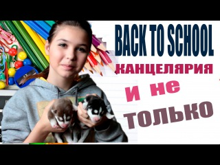 BACK TO SCHOOL 2016: ПОКУПКА КАНЦЕЛЯРИИ И НЕ ТОЛЬКО бэк ту скул