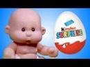 Развивающее видео для детей Куклы Пупсики РАСПАКОВКА киндер сюрприз Мультик с игрушками для девочек