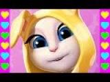 Кошка Анжела. Серия #4. Мультики игры для детей. Игровой мультфильм про кошку Андж...
