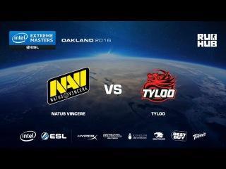 IEM Oakland - NaVi vs TyLoo - de_overpass - [Enkanis, yxo]
