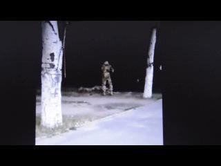 Відео Володимира Панченко: п'яні піхотинці (частина 1)
