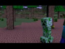Самый лучший эпичный мульт про майнкрафт Minecraft мульт про жизнь Стива!
