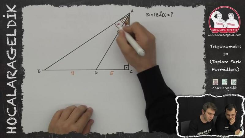 Trigonometri -10 (Toplam Fark Formülleri) - Matematik - HG