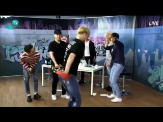 [SHOW] [17.08.16] B.A.P's Private Life - Bang Yongguk, Himchan, Zelo singing (trot) (CUT)