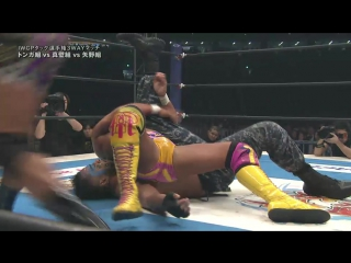 IWGP Tag Team Title Match:Guerrillas Of Destiny(c) vs G.B.H. vs Tomohiro Ishii and Toru Yano(Wrestle Kingdom 11-04.01.2017)