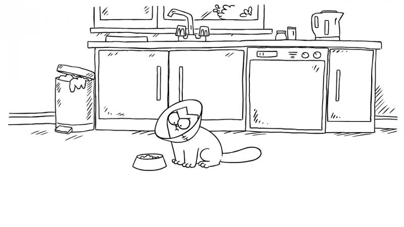 Кот Саймона / Simon's Cat - 48. Мопс