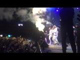 Ручные крио пушки (СО2) на концерте группы
