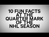10 NHL fun facts at the quarter mark | November 23, 2016