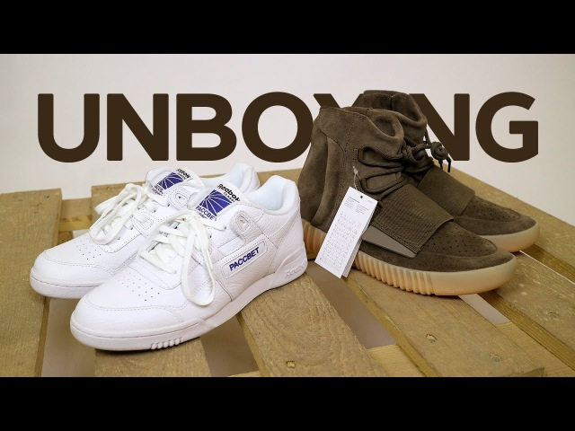 Unboxing и обзор Reebok x Гоша Рубчинский и adidas Yeezy Boost 750 Light Brown