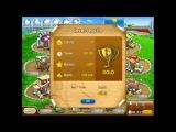 Веселая ферма Печем пиццу Коровья 2 Золото Farm Frenzy Pizza Party only GOLD Cow lane 2 (level 34)