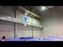 Трюки на батуте 6 летний трюкач Кучеренко Андрей Kucherenko A 6 years old trampoline tricks