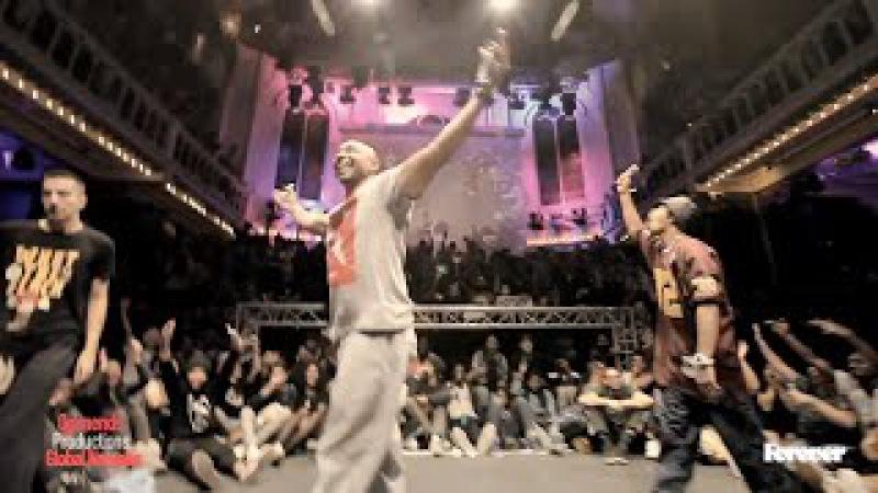 L'ETO vs KILLASON 1st round battles Hiphop Forever 2014