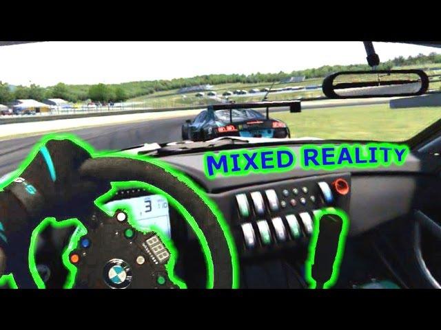 Mixed Reality - Assetto Corsa GT3 Qualify - Oculus Rift DK2