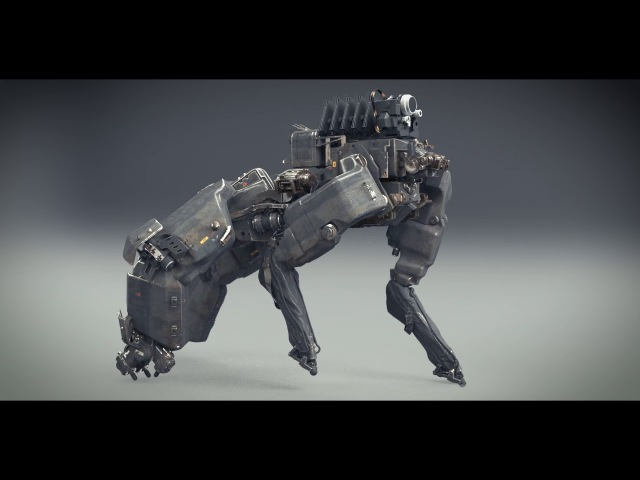 Spectral movie, mule rough conceptual rigging