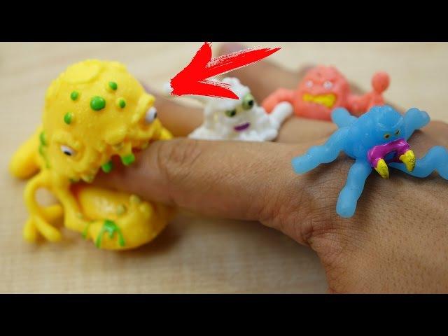 МЕНЯ УКУСИЛ МИКРОБ ЛИЗУН...Обзор Fungus Amungus Toys !