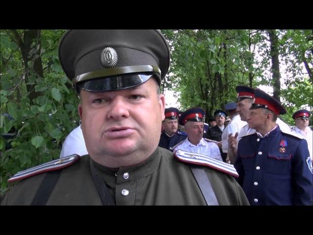 ВОСЬМА река. с.Богословское, с. Иваньково. Казаки Тульской обл. 04.06.2016.