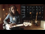 Rush's Geddy Lee on his Fender USA Geddy Lee Jazz Bass